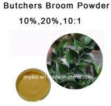 100% 자연적인 푸줏간 주인의 비 추출 Ruscogenins 10%-20%