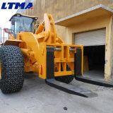 Prezzo del caricatore della rotella del carrello elevatore da 16 tonnellate per il trattamento del marmo