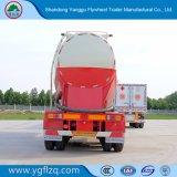 3개의 차축 대량 시멘트 또는 석탄 재 또는 분쇄된 석탄 또는 입자 또는 엔진을%s 가진 곡물 유조선 또는 탱크 반 트레일러