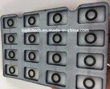Geprägter Matrix PU-Beschichtung-Silikon-Gummi-Tastaturblock