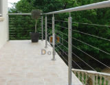 Diseño exterior Cable de acero inoxidable pasamanos