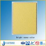 明るく黄色いカラーFormicaの積層物の装飾の海洋ボード