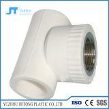 Encaixe de tubulação plástico PPR do banheiro da fonte de água cotovelo de 45 graus