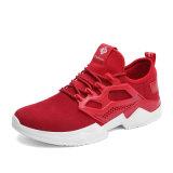 Ботинки спорта способа ботинок высокого качества с ботинками резиновый Mens Outsole вскользь шнуруют вверх ботинки Slip-on