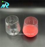 glaces de vin 12oz en plastique pour la cuvette de plastique de vin rouge