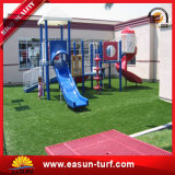 Jardín plástico artificial de la hierba del resorte que ajardina la hierba artificial de la decoración