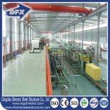 10 톤 기중기를 가진 Prefabricated 가벼운 강철 구조물 창고