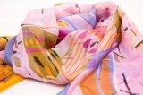 女性のためのScarf 100%の絹のシフォン