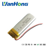 batteria della macchina fotografica di GPS PSP Bluetooth della macchina fotografica di Fordvd della batteria del Li-Polimero di 501646pl 3.7V 380mAh