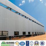 Gruppo di lavoro prefabbricato modulare chiaro della struttura d'acciaio