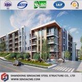 중요한 다층 강철 구조물 사무실 건물 집을 도십시오