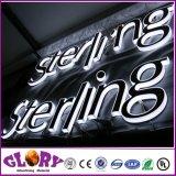 De LEIDENE AcrylBrief ondertekent het Uithangbord van de Reclame