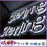 Carta de acrílico LED publicidade sinais de placa