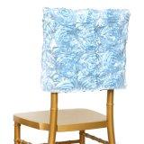 中国の供給3Dのロゼットの刺繍のChaviraの椅子カバー