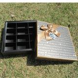 OEMはキャンデー/Chocolate /Sweetyのためのペーパー及び木のギフトの荷箱をカスタマイズする