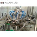 A linha de produção da fábrica de Água Mineral pequena garrafa 5L 10L Garrafa de Enchimento de lavar roupa embaladora etiquetamento de nivelamento