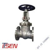 Valvola a saracinesca aumentante del gambo del acciaio al carbonio di BACCANO Pn25 (WCB) con manovrato mediante ingranaggi