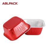 크리스마스 경축을%s 최신 판매 알루미늄 호일 사각 디저트 컵