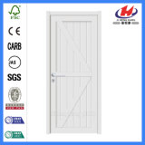 Puerta blanca de papel de madera de desplazamiento compuesta de la pintura de fondo de Honeycom (JHK-SK09)