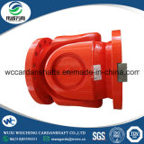 Giuntura dell'asta cilindrica di cardano SWC490 con i gioghi trattati termicamente della flangia 35CrMo