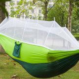 パラシュートの蚊帳が付いているナイロン恋人のハンモックのテント