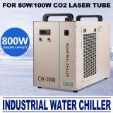 AC 110V 60Hz-5000Cw la DG de chiller para agua Industrial 80/100W Refrigerador tubo láser de CO2