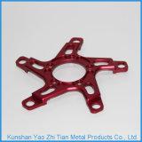 Подгонянная часть CNC высокого качества подвергая механической обработке алюминия