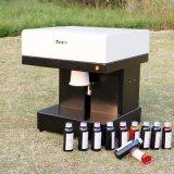 기계 식용 잉크에 의하여 주문을 받아서 만들어지는 커피 인쇄 기계를 인쇄하는 DIY 디지털