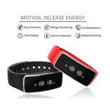 Bracelete esperto do esporte do sono da caloria do podómetro com controle da música