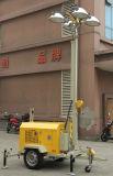 De mobiele Lichte Toren van de Generator met stille Aanhangwagen