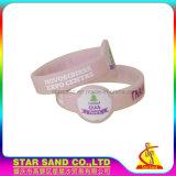 Förderndes kundenspezifisches Gummiband, kundenspezifisches gute Qualitätssilikon-Armband