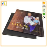 Libri di Hardcover su ordinazione professionali di stampa (OEM-GL017)