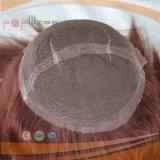 Parrucca piena dei capelli del Virgin di Handtied del merletto (PPG-l-0670)