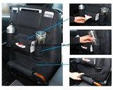 PU-lederner Auto-Sitzrückseiten-Organisator und iPad Minihalter, Universalgebrauch als Auto-Rücksitz-Organisator Esg10357