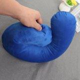 Viagens em forma de U memória almofadas confortáveis almofadas de ar