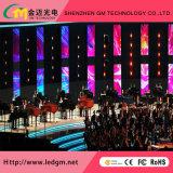 Publicidade Cores interior P3 Video wall de LED para instalação fixa