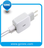Preço por grosso aprovado pela CE 5V 2.4A Carregador de parede USB