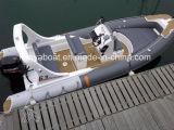 Liya 6.2m Hypalon inflables de pesca de fibra de vidrio (barco de casco rígido HYP620A)