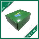 니스로 칠하는 광택 있는을%s 가진 B 플루트 마분지 수송용 포장 상자