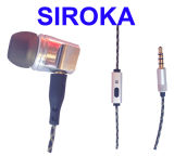 Auriculares de Ruido-Aislamiento del en-Oído de Micropro con estereofonia atada con alambre