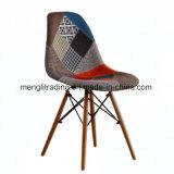 Chaise de style moderne de SGE jambes en bois naturel blanc