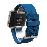 Reloj inteligente bandas para Fitbit Blaze 23mm Pulsera de silicona