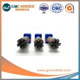 1.5X4X50直径0.5mm-25mmの炭化物4/6fluteの平らな端製造所