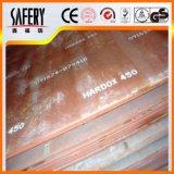 Ar500 plaque résistante à l'usure de la plaque en acier Ar500