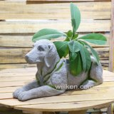 L'animale di stile di paese Sculpt la decorazione del POT di fiore con buona qualità