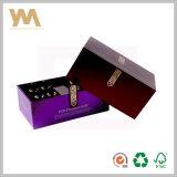 Luxury elegante caixa de embalagem de perfume de papel grosso
