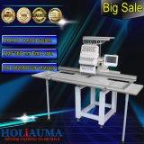 métier à broder à plat à grande surface seule tête 15 aiguille ordinateur Machine à broder pour Cap plat multi fonction T-Shirt broderie Ho1501L
