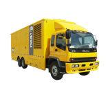 beweglicher Generator 100kw/125kVA Shangchai Dieselmotor-Flächennutzung-elektrischer Generator