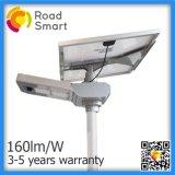 30W todo en una lámpara de calle solar del LED con el panel solar