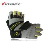 適性半分指の重量挙げのスポーツ用品の試しの体操のトレーニングの手袋